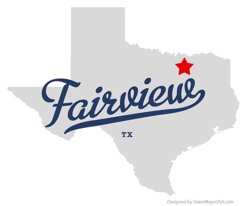 map_of_fairview_tx