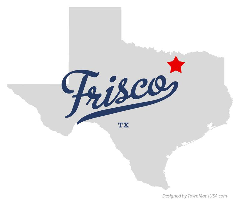 map_of_frisco_tx